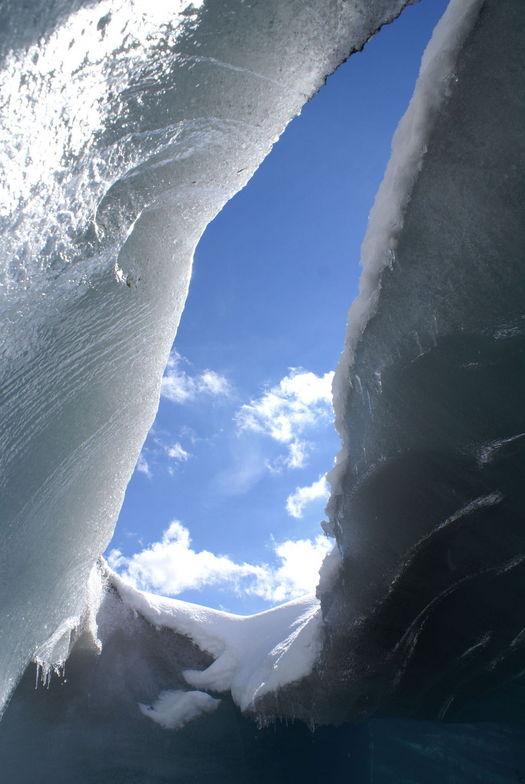 From the inside looking out, Zermatt