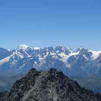 Mont Blanc in the Summer, Verbier