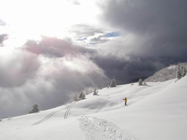 Breathtaking view, La Rosière