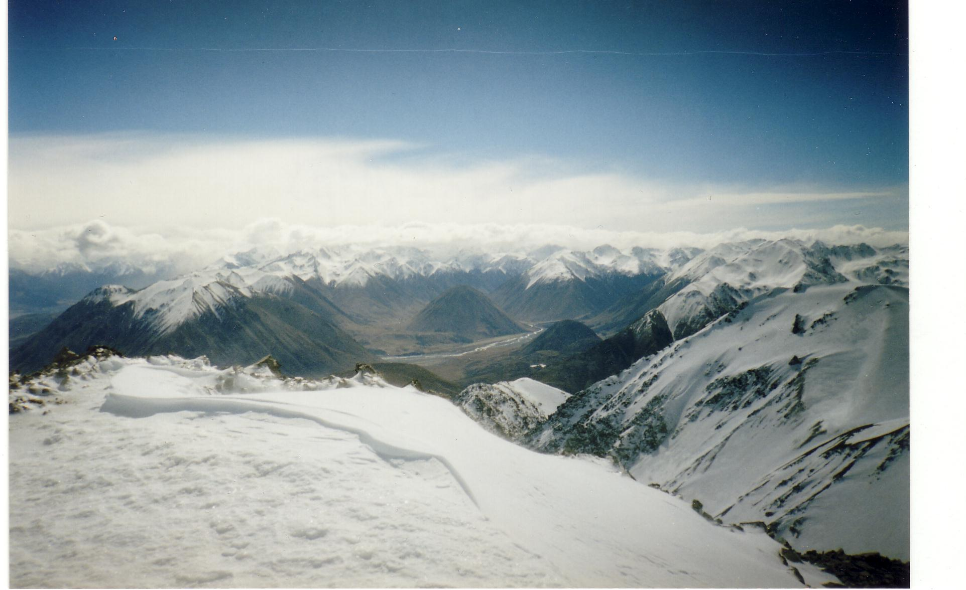 Southern Alps from Porter Heights /02, Porters