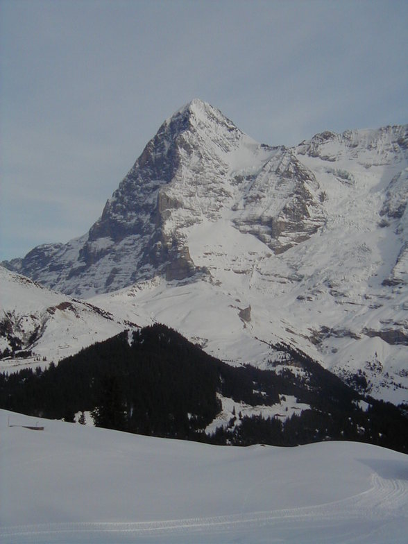 Eiger Mountain, Mürren