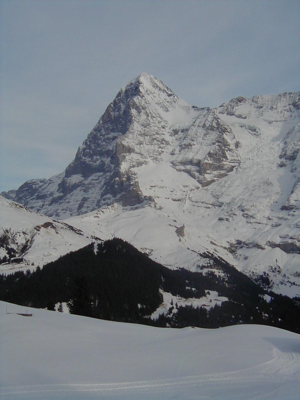 Eiger Mountain, Mürren