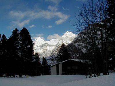 Eiger & Mounch Mountains, Mürren