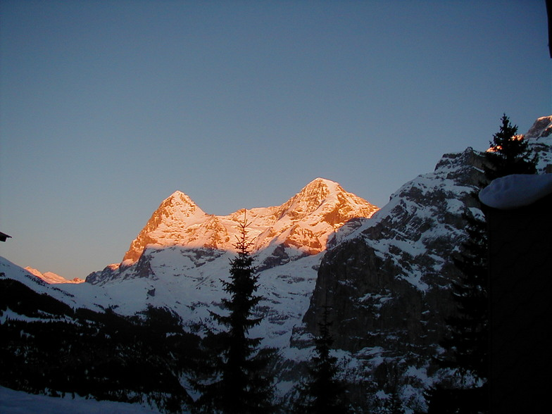 Eiger and Monch, Mürren