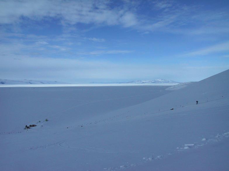 Scott Base ski field, Antarctica
