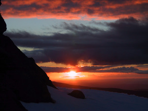 Whakapapa Sunset photo