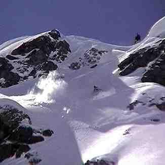 pointe de fogliettaz, Ski Santa Fe