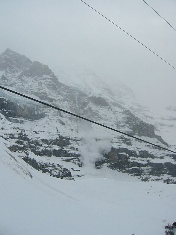 Grindelwald Avalanche