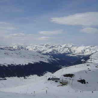 Pyrenees from the top of Pas de la Casa, Grandvalira-Pas de la Casa
