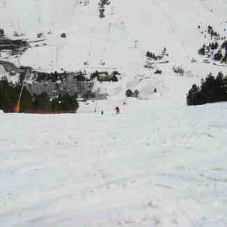 The beginnig of a BLACK run ..., Grandvalira-Pas de la Casa