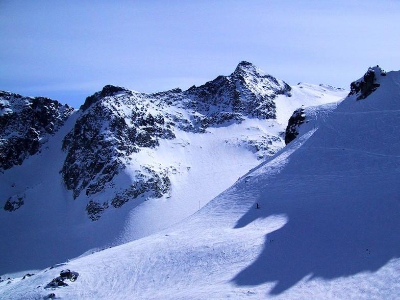Top of Spanky's Ladder, Blackcomb, BC, Whistler Blackcomb