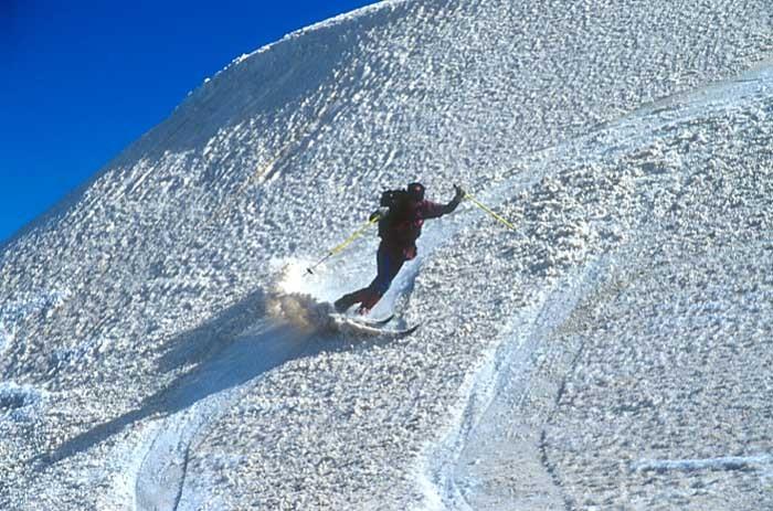 Telluride snow