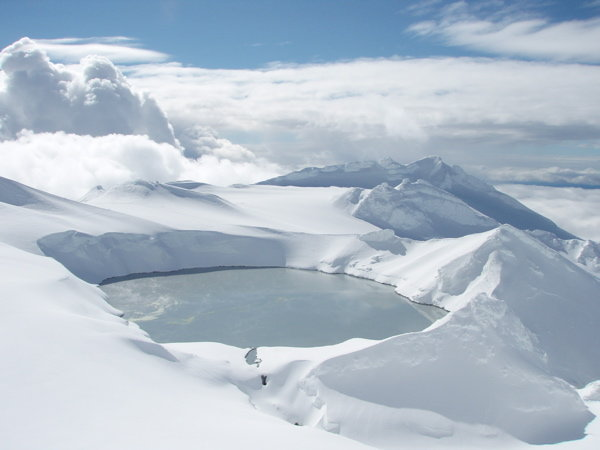 Crater Lake, Mt Ruapehu, Turoa