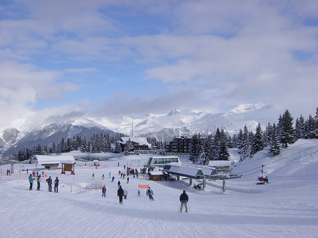 trip to Courchevel