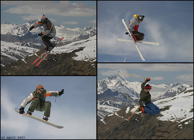 action !, Val Thorens