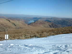 Ullswater and Crossfell from Raise Feb 03, Scafell Pike photo