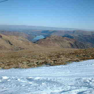 Ullswater and Crossfell from Raise Feb 03, Scafell Pike
