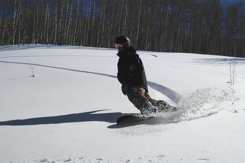 43 days of snow-first day of sun, Beaver Creek