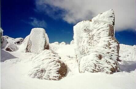 Frozen Rocks, Bláfjöll