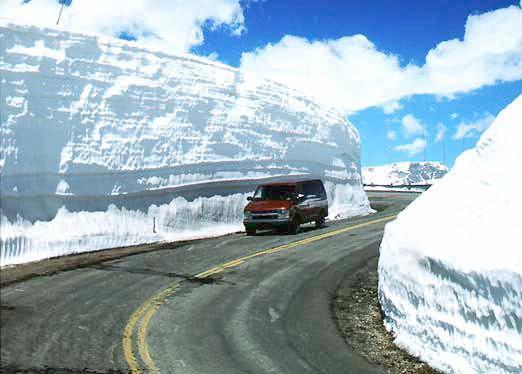 Beartooth - snowdrift, Kalavryta Ski Resort