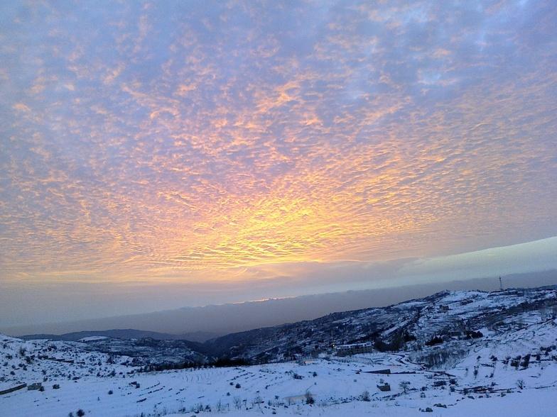 SUNSET FOR FARAYA, Mzaar Ski Resort