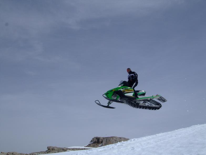 my 2010 jump, Mzaar Ski Resort