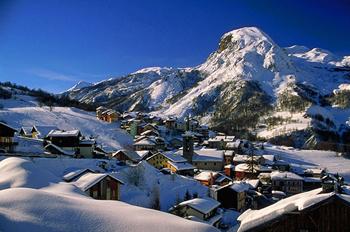 St Martin de Belleville snow