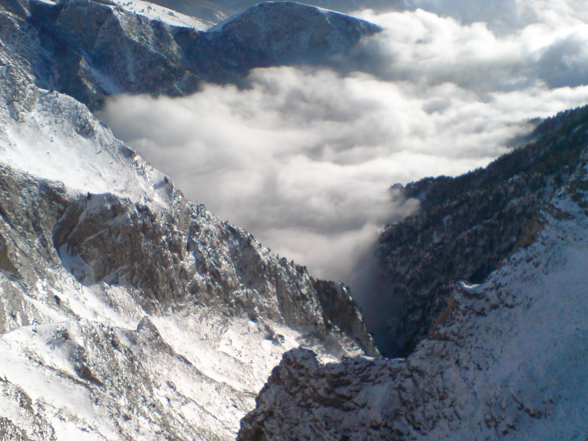 falakro-from chalet, Falakro Ski Resort