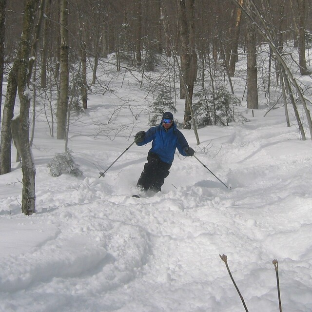 Stowe powder Feb. 2010