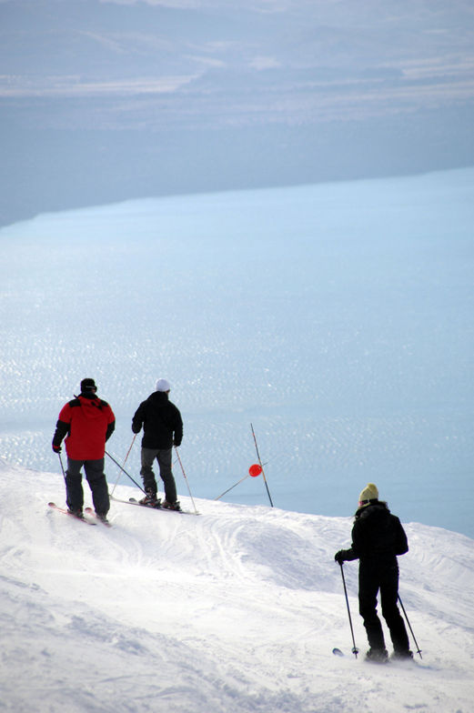 Snow and Lake?!, Cerro Catedral
