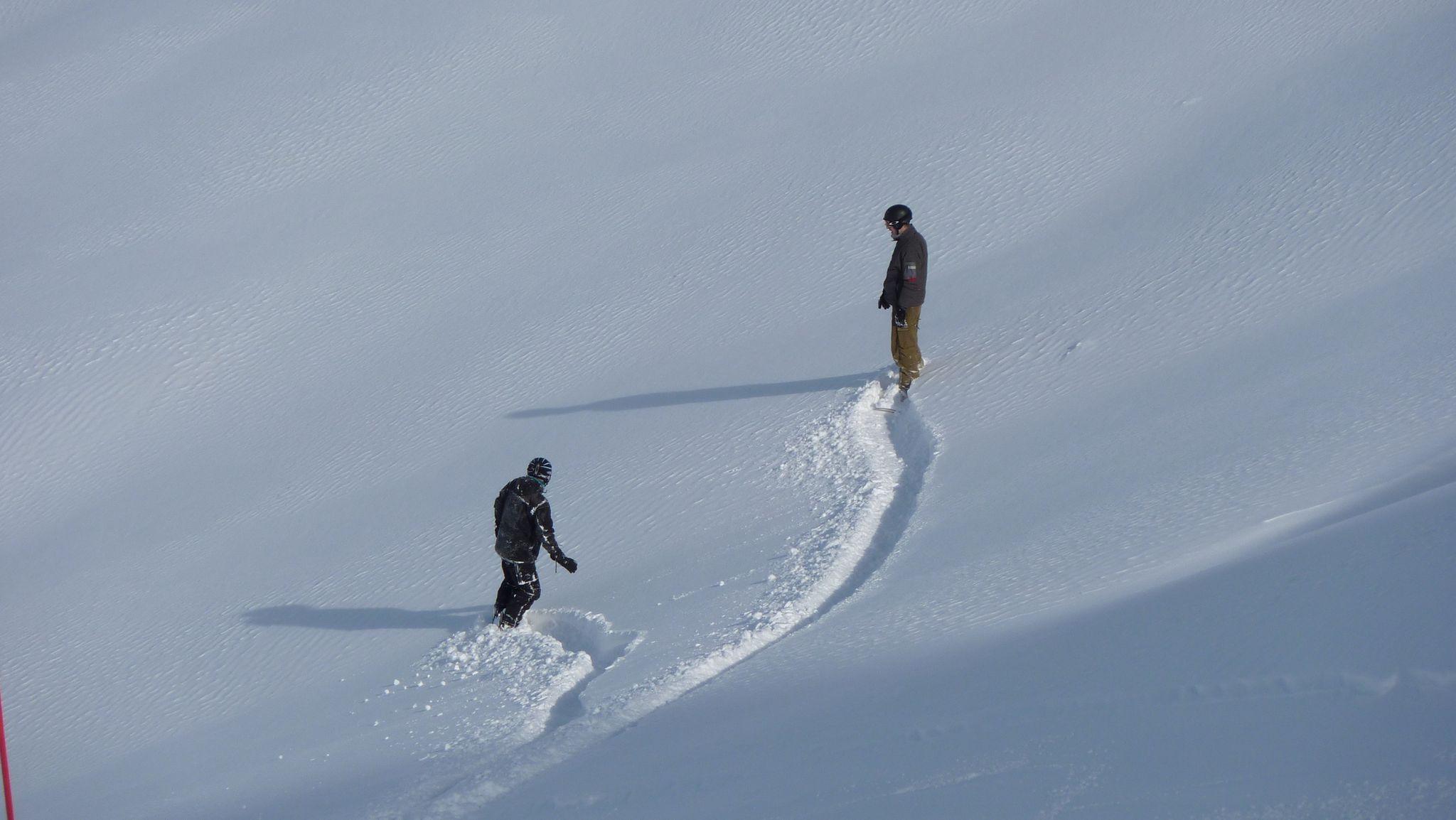 New snow, Fügen/Spieljoch
