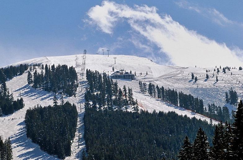Up the slope, Bansko