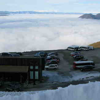 Carpark on the edge of the world, Treble Cone