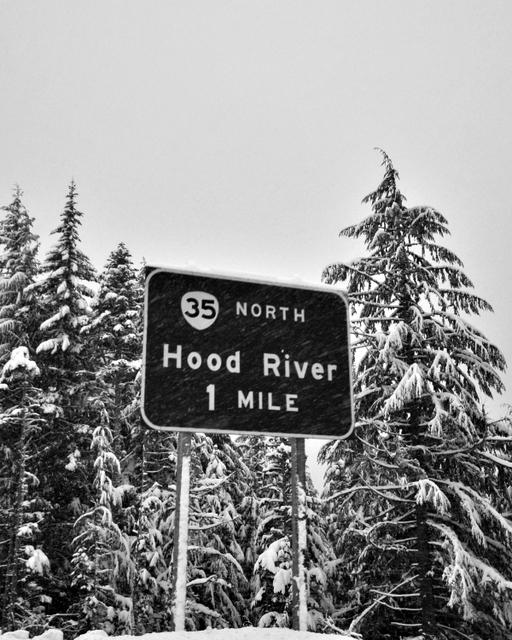 Mt.Hood On the way to Meadows, Mt Hood Meadows