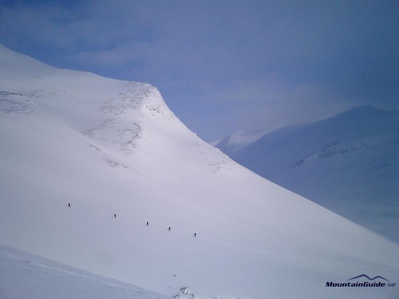 Ski touring in Sweden, Saariselka