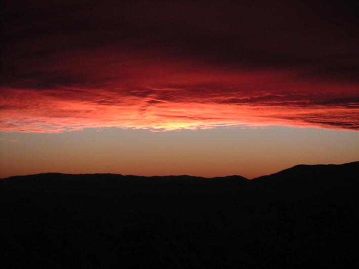 Sunset Colorado, El Colorado