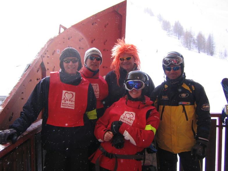 British Heart Foundation Ski Challenge 2006, Chamonix