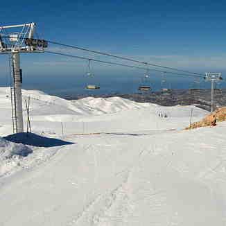 Top of Jabal El Dib - Jonction, Mzaar Ski Resort