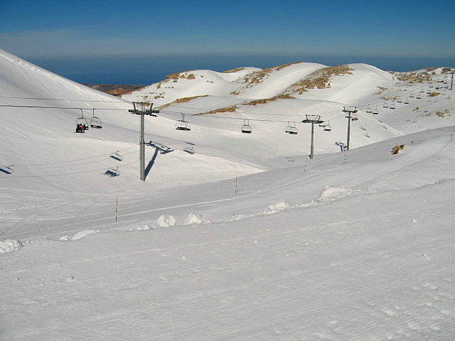 Faraya Mzaar - Couloir, Mzaar Ski Resort