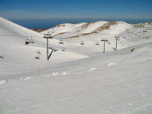 Faraya Mzaar - Couloir, Mzaar Ski Resort photo