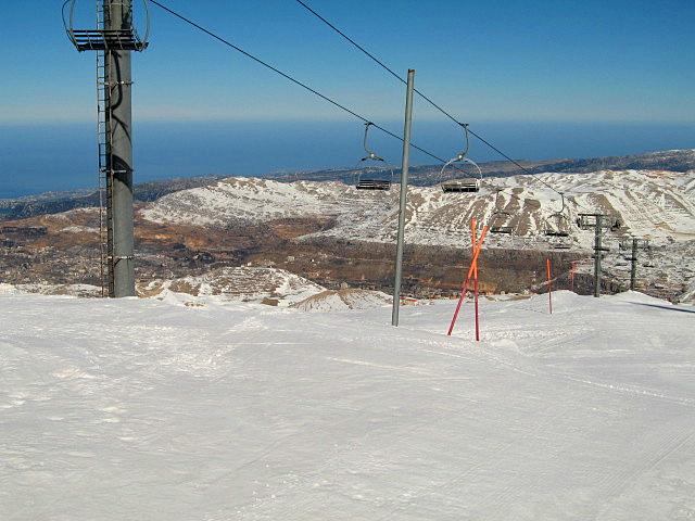 Mzaar - Top of Mountain, Mzaar Ski Resort