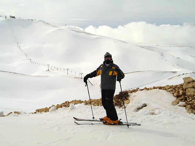 On a Coooold February Day, Mzaar Ski Resort