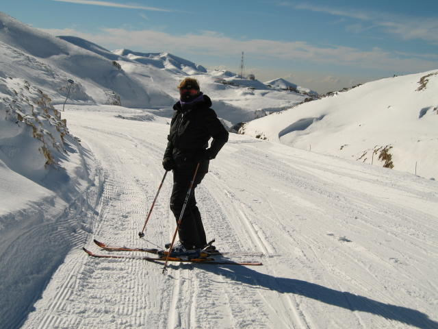 Couloir Wardeh To Junction Domain, Mzaar Ski Resort