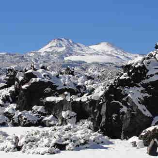 Volcanes desde Shangri-La, Nevados de Chillan