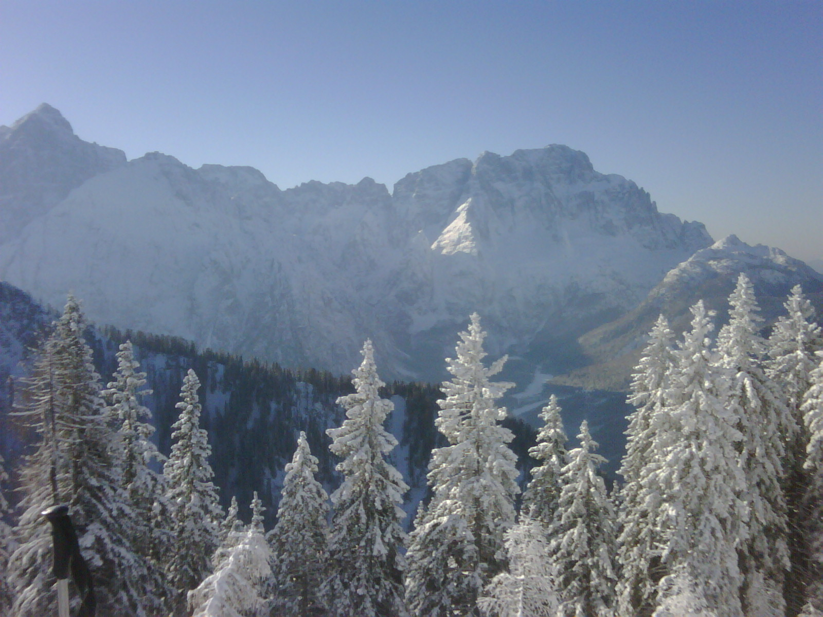 Coldest day of the year - 20 Dec 2009, Tarvisio