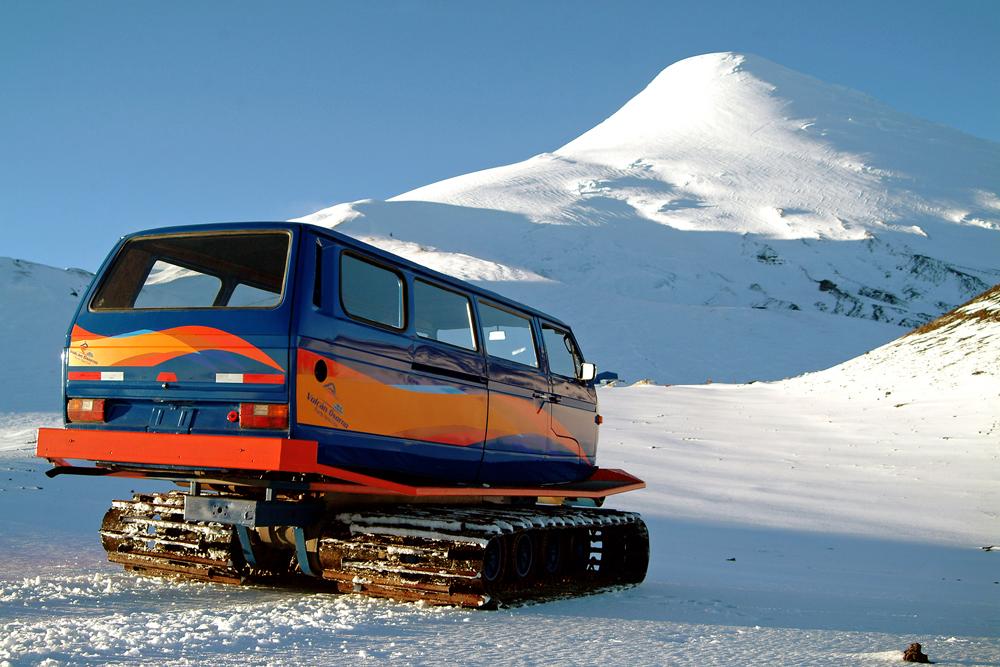 Snowcar Centro de Ski Volcán Osorno