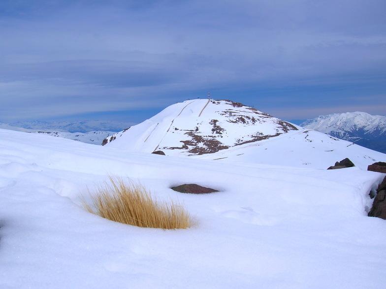cara norte, El Colorado