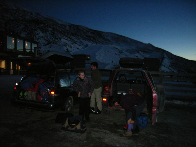 Early am at TC, Treble Cone