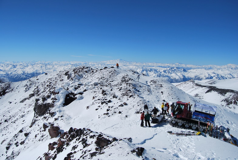 cat over the Crater top, Nevados de Chillan