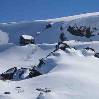 Old refuge, Nevados de Chillan